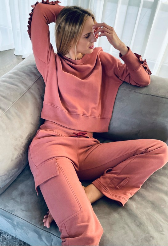 Pink Leisure suit
