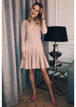 Powder pink dress DIANA