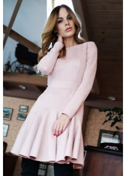 Dusty pink dress DIANA