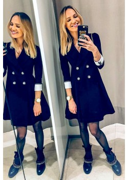 Black jacket dress NEW